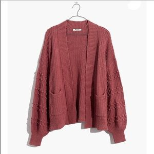 NWT Madewell Bobble Cardigan Sweater